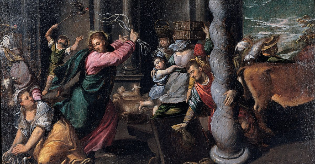 Jesus angry